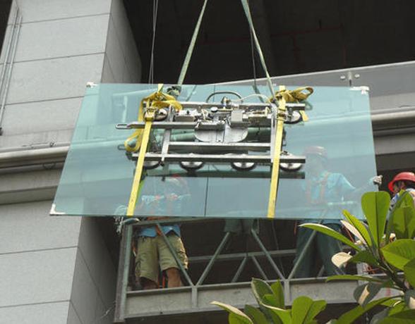 武昌建筑高空玻璃安装