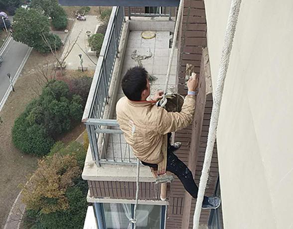 高空作业装修-外墙清洗