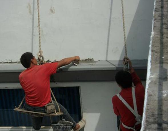 外墙防水堵漏-楼层维修防水