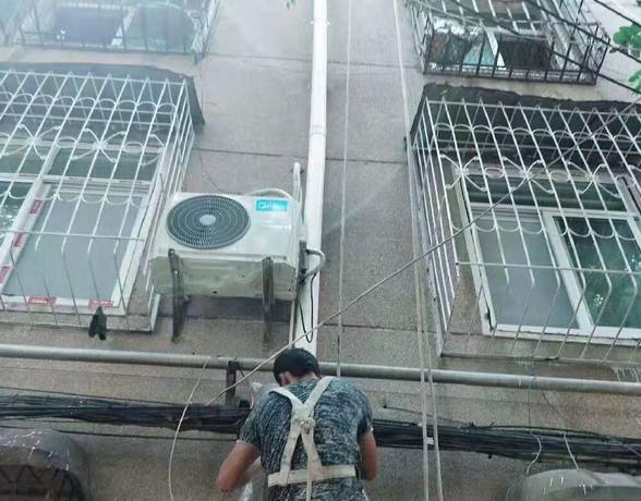 外墙排水管更换